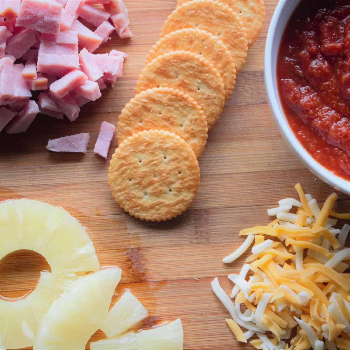 Mini Pizza Canape Bites