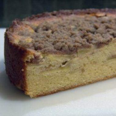 Apple Streusel Pound Cake 2