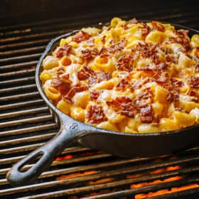 smoked mac n cheese