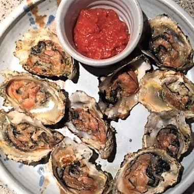 Bourbon Smoked Oysters