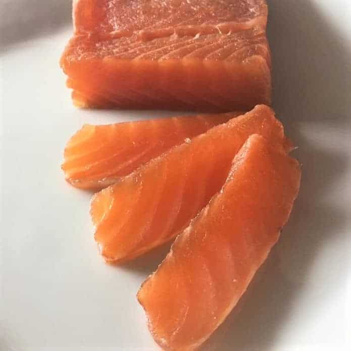 Strawberry Cured Salmon