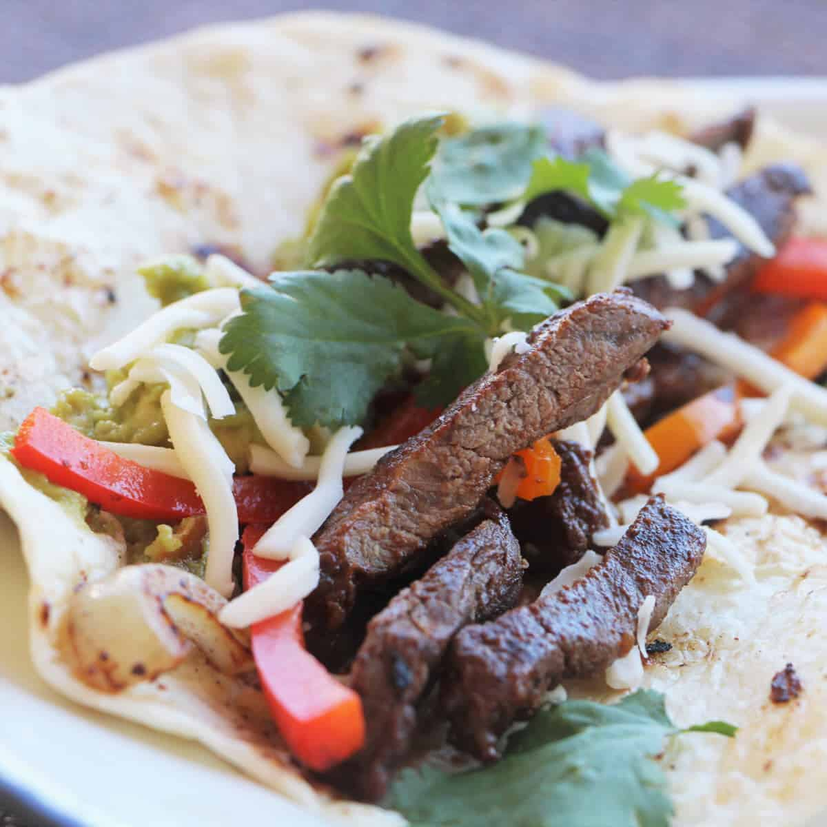 Camp Beef Fajitas