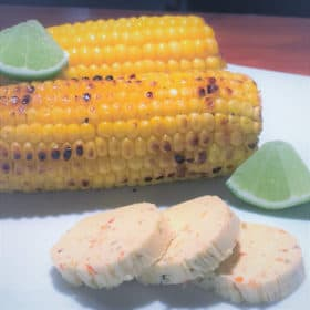 Corn with Lime Butter