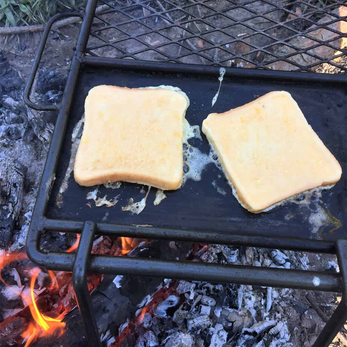 Easy Campfire French Toast 2