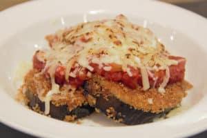 Eggplant Parma