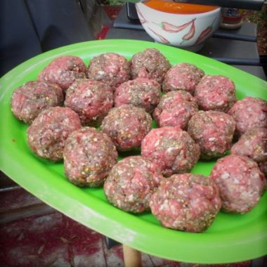 BBQ Buffalo Meatballs