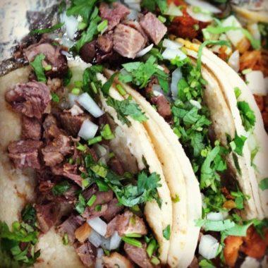 Beef Tacos de Lengua
