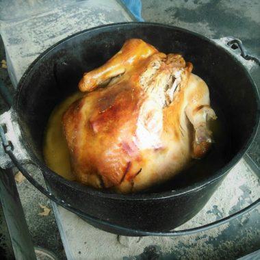Dutch Oven Roast Turkey