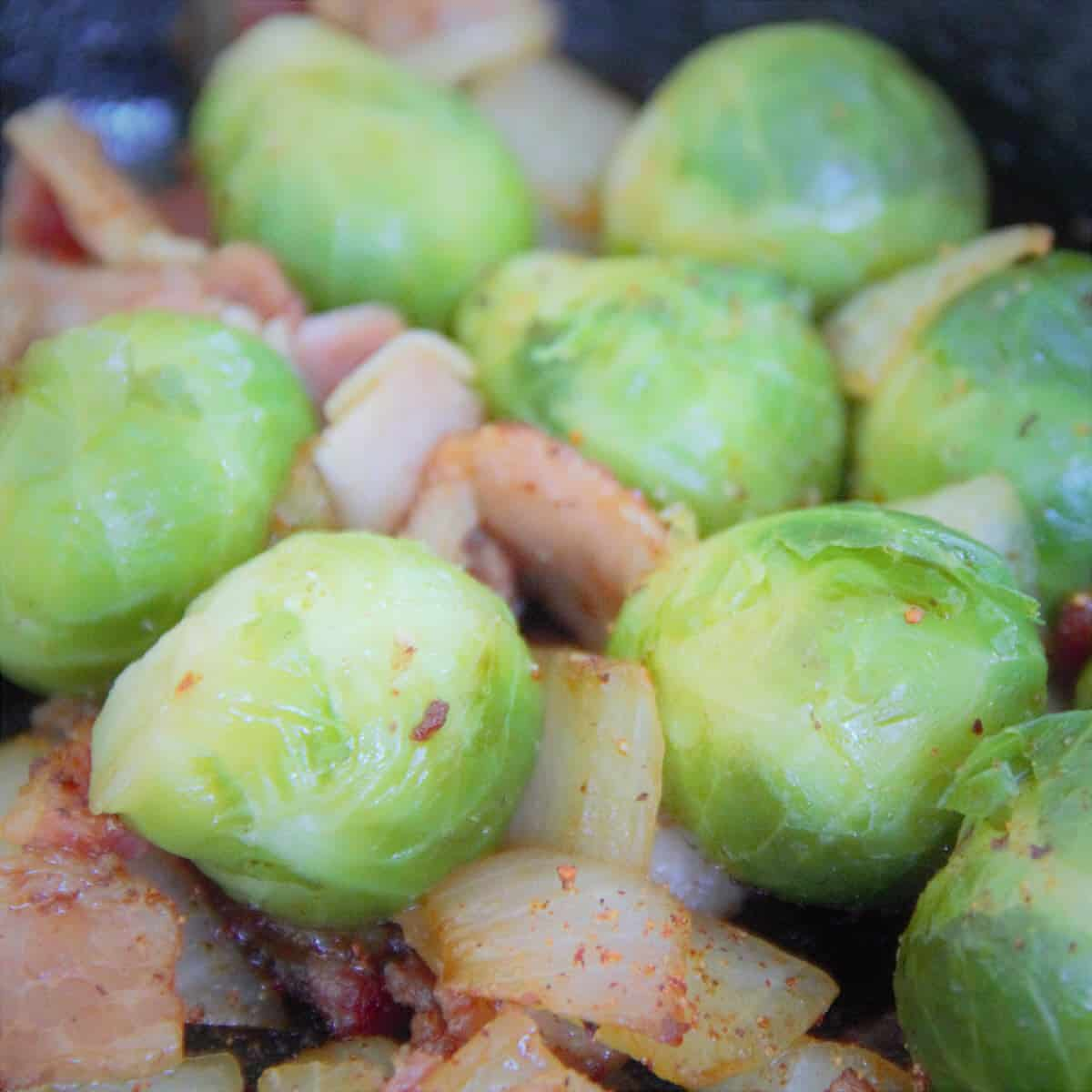 Skillet Sprouts