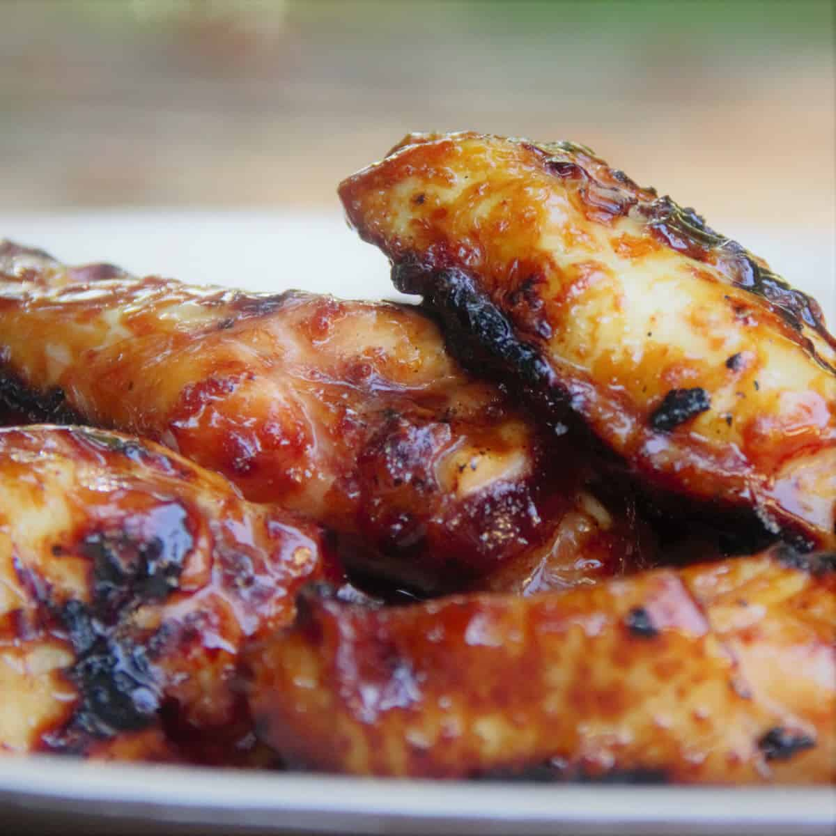 Korean Grilled Chicken Wings