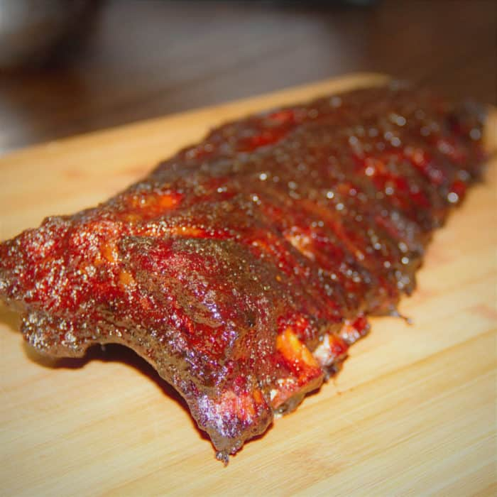 Sweet and Spicy Back Ribs