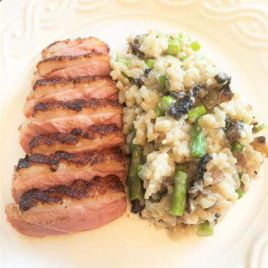 Keeping a duck breast moist is one of the keys of a successful recipe and that is achieved in this reverse seared cooking method. #bushcooking #duck #bbqduck #revereseseared